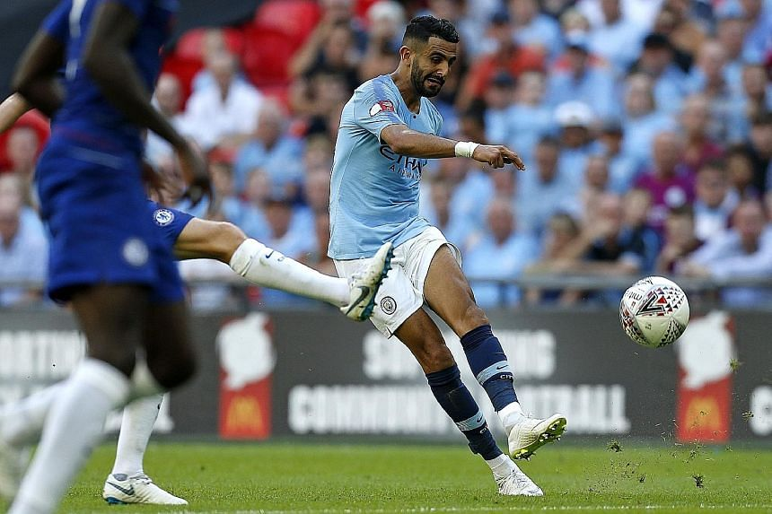Forward Riyad Mahrez is Manchester City's only major signing this summer but, with a top-notch squad to mount an English title defence, he may seem like a luxury buy.