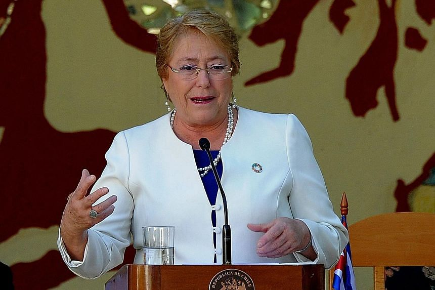 Ms Michelle Bachelet will be the new UN human rights chief.