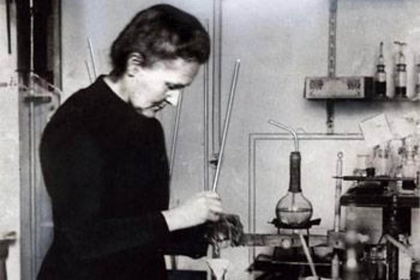 Scientist Marie Curie was ranked at the top of a list of 100 women who changed the world.