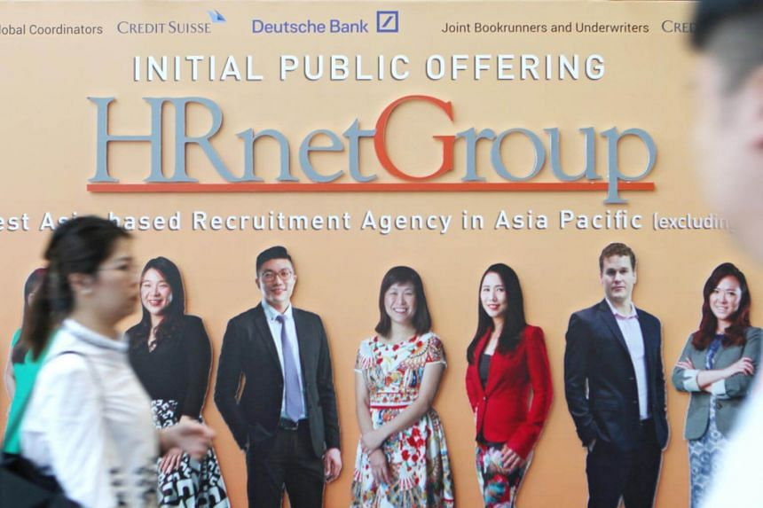 HRNetGroup's increase in net profit was attributed to the implementation of the 88GLOW Plan in June 2017.