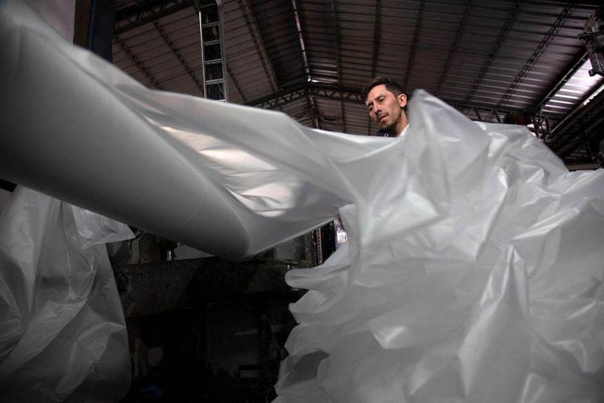 A United Nations report in June said up to five trillion grocery bags are used globally each year, which is nearly 10 million plastic bags per minute.