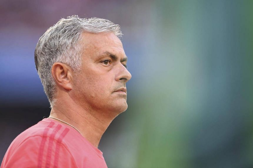 Manchester United's manager Jose Mourinho took another swipe at the media, pointing out that his United side were closest to runaway leaders Manchester City last season.