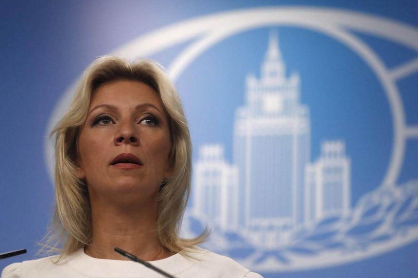 Russian Foreign Ministry spokesman Maria Zakharova said Moscow was starting to work on retaliatory measures.