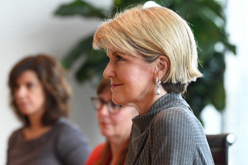"""""""The challenge for all development partners is to ensure investments... don't impose onerous debt burdens on regional governments,"""" said Australian Foreign Minister Julie Bishop."""