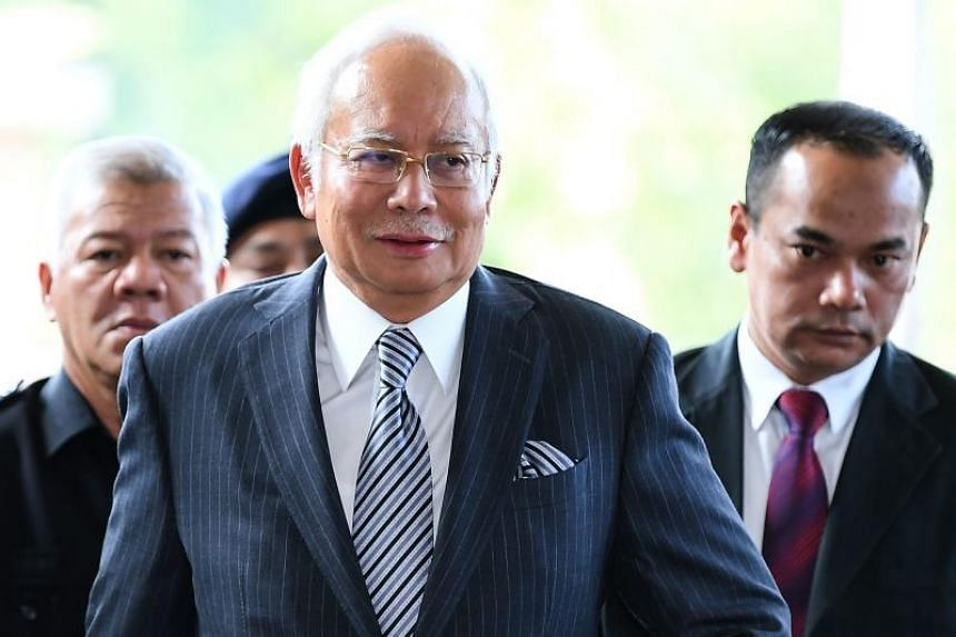 """Former Malaysia prime minister Najib Razak said: """"All the allegations are against me and not Umno. It is unfair for them to bear this burden."""""""
