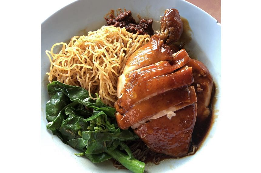 Soya Sauce Chicken Noodle (from $4)