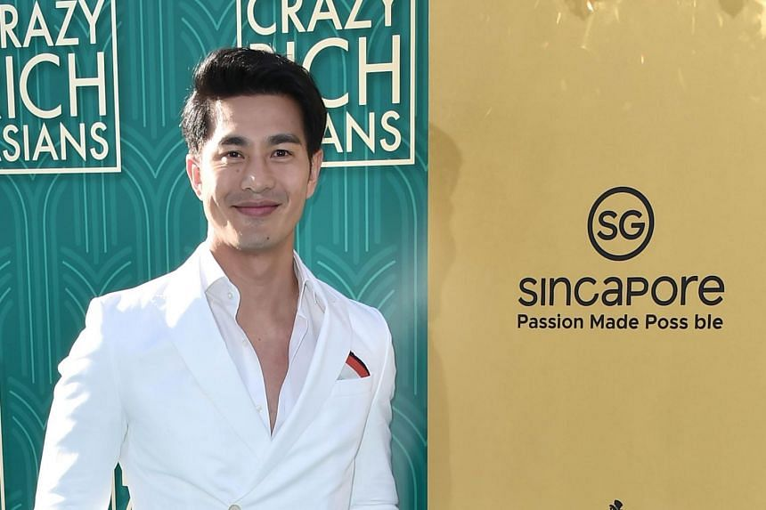 Pierre Png attends the premiere of Warner Bros. Pictures' Crazy Rich Asians at TCL Chinese Theatre Imax on Aug 7, 2018 in Hollywood, California.