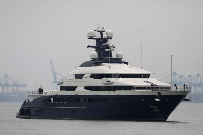 Equanimity, the 90-metre luxury yacht that belonged to Jho Low, who allegedly played a central role in the 1MDB controversy.