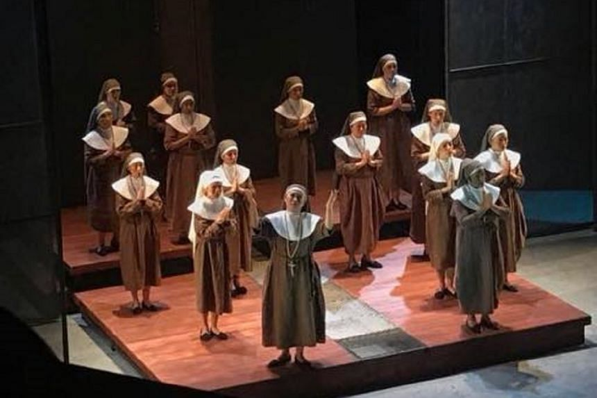 New Opera Singapore (NOS) mounted the Singapore premiere of Francis Poulenc's 1957 opera Dialogues Of The Carmelites (Dialogues Des Carmelites), defying the conventions of what operas local companies should be presenting.