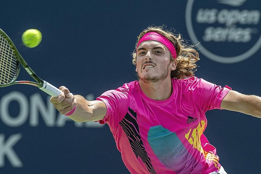 Stefanos Tsitsipas, who turns 20 tomorrow, secured the biggest win of his career by overcoming Wimbledon champion Novak Djokovic in the third round of the Toronto Masters on Thursday. It is the latest in a breakthrough campaign where he has reached t