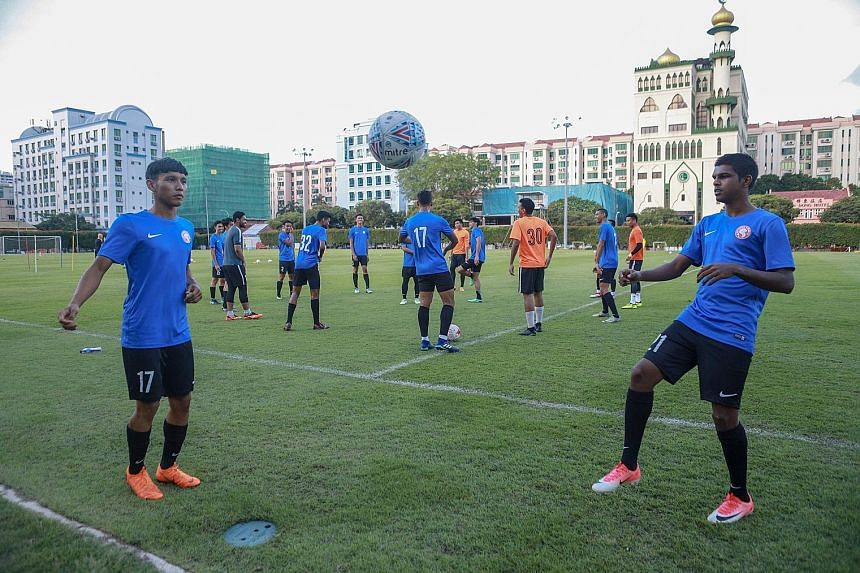 The Young Lions hope to impress coach Fandi Ahmad, who will lead the senior national team at the AFF Suzuki Cup that starts in November.