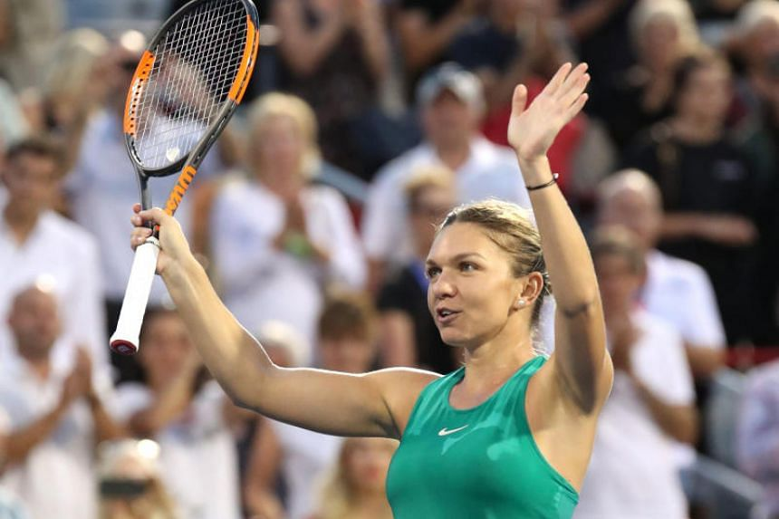Halep, the 2016 champion, was playing her third match in two days after earning two wins on Thursday over Anastasia Pavlyuchenkova and 38-year-old Venus Williams.