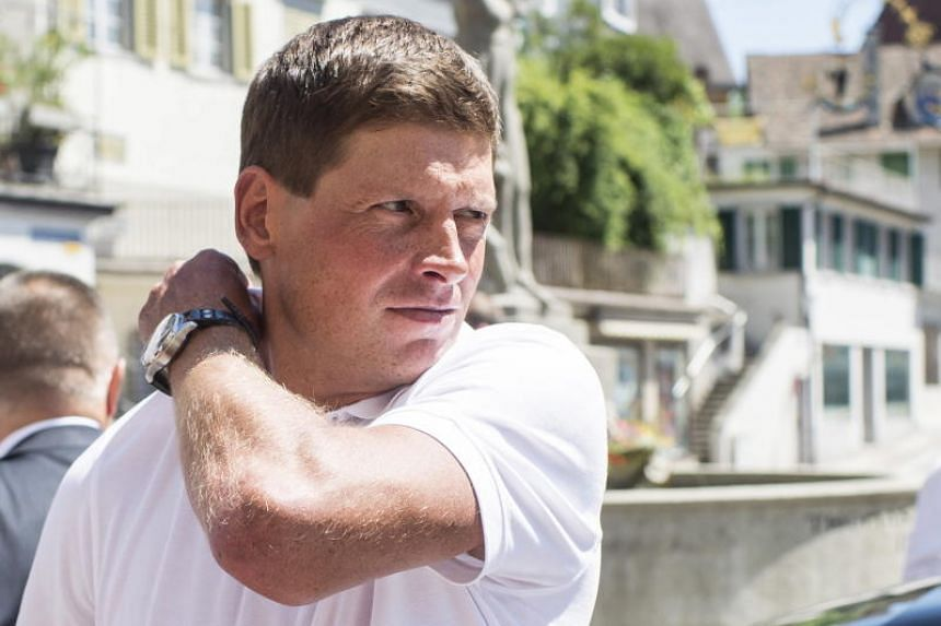 A file photo of Jan Ullrich, taken in 2015. The former cycling star suffered a panic attack after being released on bail pending an investigation for possible attempted manslaughter.