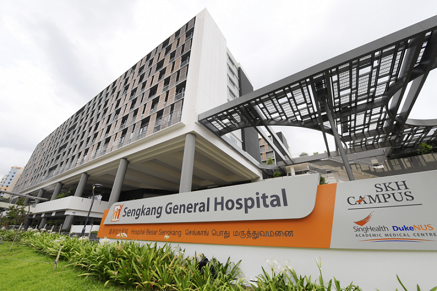 Sengkang General Hospital is within walking distance of the Sengkang MRT station and linked directly to the LRT station on level two.
