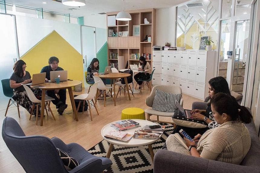 Trehaus sets itself apart by offering a family-friendly co-working space where the adults can do their work in one room while their children play in the other.