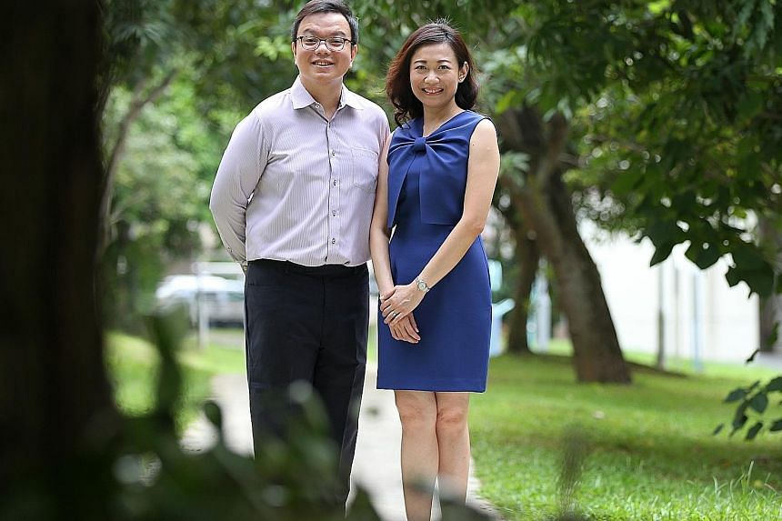 Mr Ronald Wong, seen with his wife Joycelin Ang, adopts a diversified asset allocation structure comprising core and non-core allocation in investment assets, with a global-macro perspective.