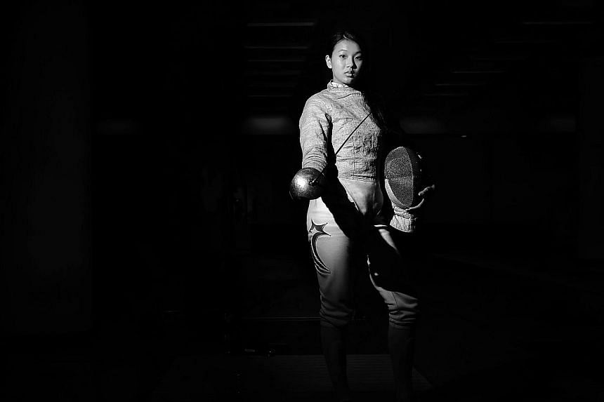 Three hairline cracks were detected in her lower back early last year. That left Lau Ywen unable to train for months but she recovered to win the individual sabre gold at last year's SEA Games. The 18-year-old will make her second appearance at the A
