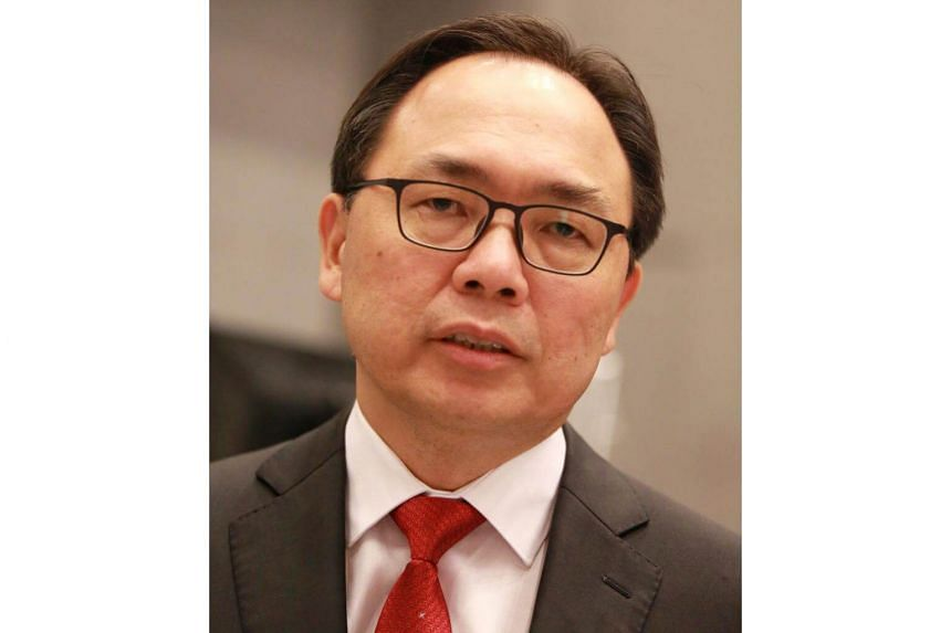 """MP Liang Eng Hwa (above) was introduced by Prime Minister Lee Hsien Loong as a """"poly comeback kid"""" ahead of the 2006 General Election."""