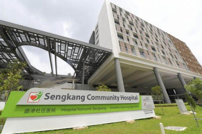 The Sengkang Community Hospital will open on Aug 28. It will start with 32 beds and increase that to 100 beds by the end of the year.