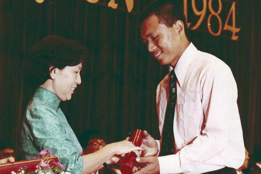 MP Liang Eng Hwa, who had failed to make the cut for junior college, receiving his civil engineering diploma from Singapore Polytechnic. He would later become a senior bank executive.