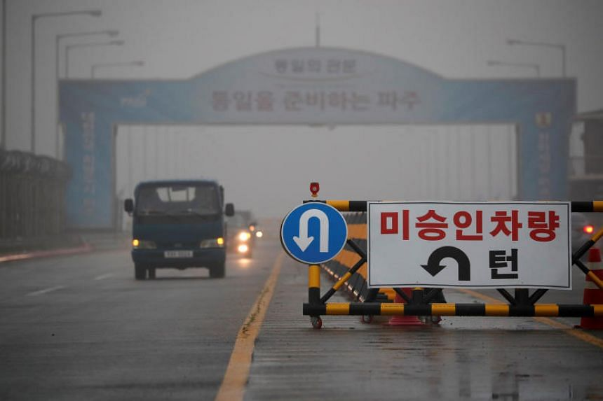 The man reportedly drove through the checkpoint on the South Korean side of the Unification Bridge in Paju without undergoing proper inspection.