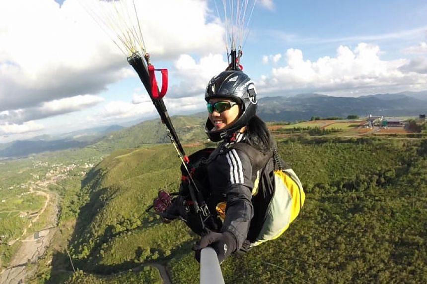 Paragliding pilot Jessica Goh will represent Singapore at the Asian Games in Indonesia, where paragliding is making its debut.