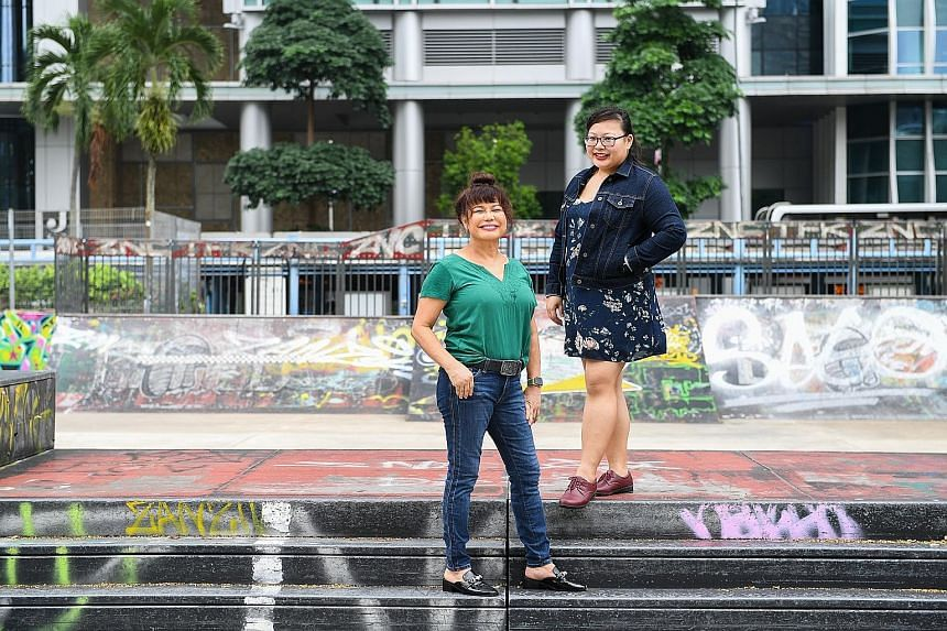 Dr Delinquent: A Guide To Decoding The Teenage Years brought together Dr Carol Balhetchet (left), who has worked in schools, social service and private practice, and The Straits Times Schools editor Serene Luo.