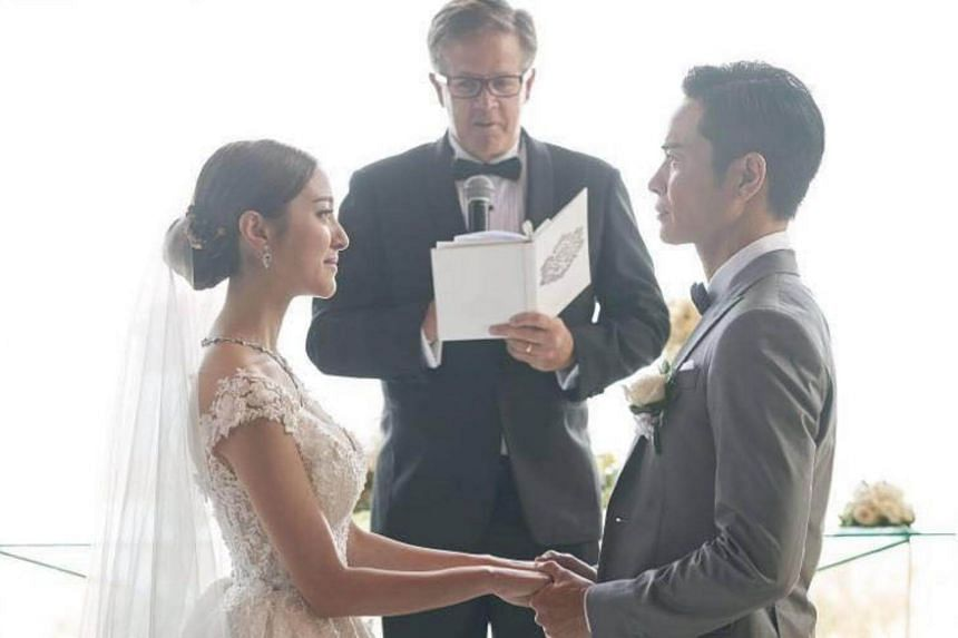 1de00f988e5e Grace Chan tied the knot with fellow actor Kevin Cheng at luxury hotel  Bvlgari Resort Bali