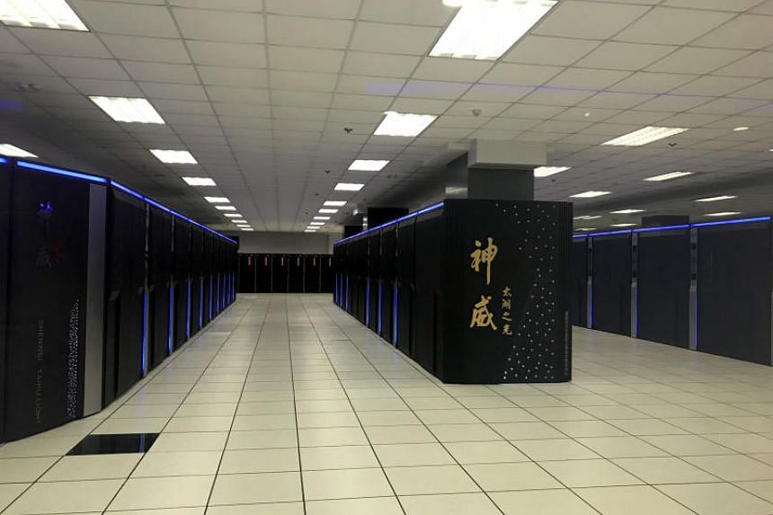 The National Supercomputing Centre in Wuxi, China, is the home of Sunway TaihuLight, the world's fastest supercomputer.