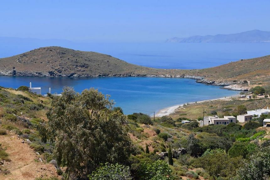 "The successful applicant will live for free in a ""semi-detached modern tiny house with its own garden"" on the tiny and scenic island of Syros in Greece, with a view of the Aegean Sea."