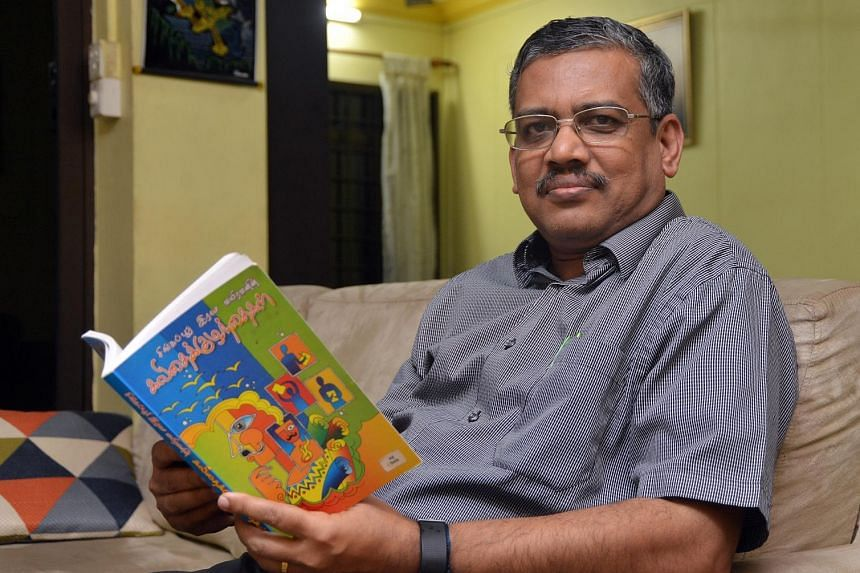 Ramanathan Vairavan won the Singapore Literature Prize for Tamil in 2012 for his poetry collection, Kavithai Kuzhanthaikal (Poetic Children).