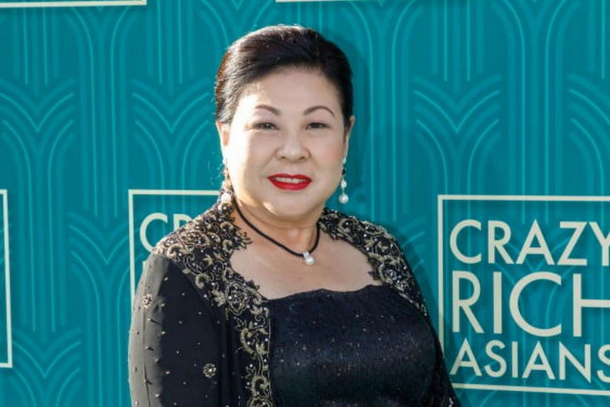 Koh Chieng Mun attends the US premiere of Crazy Rich Asians at the TCL Chinese Theatre IMAX in Hollywood, on Aug 7, 2018.