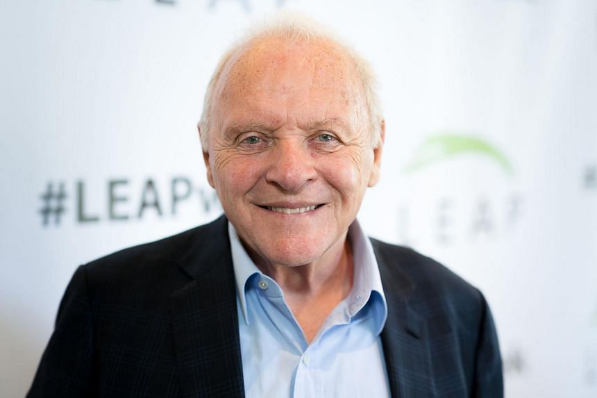 Sir Anthony Hopkins attends the LEAP Foundation on July 25, 2018 in Los Angeles, California.