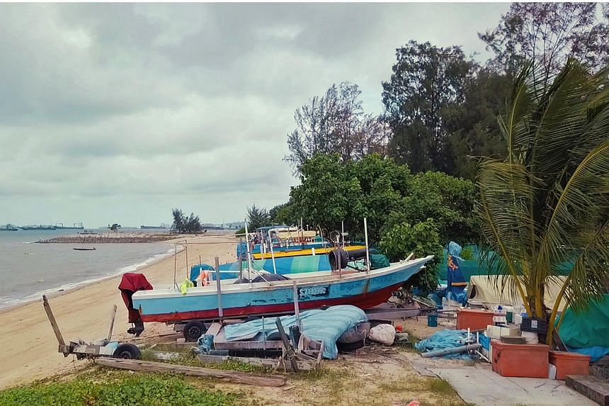 The boat storage facility on the beach near car park B1 is the last of its kind. Up to 2007, there were four such storage areas along East Coast Park. The storage facilities were designed in the 1970s for fishermen by the east coast who had been affe
