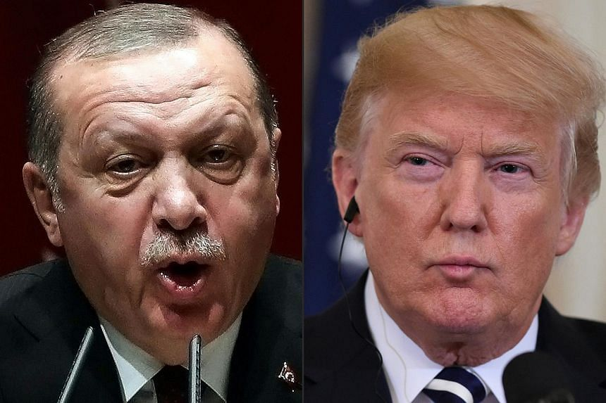 """President Recep Tayyip Erdogan said Turkey would """"start looking for new friends and allies"""" if Washington does not reverse the trend of """"unilateralism and disrespect"""". US President Donald Trump last week announced new tariffs on Turkish steel and alu"""