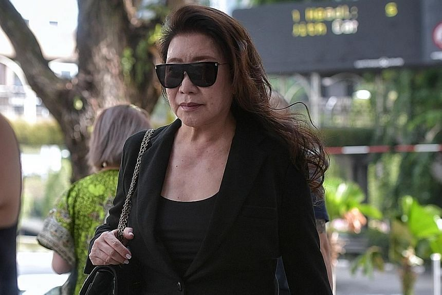 Shi Ka Yee has hit the headlines several times this year for offences involving her Ferrari car. She also pleaded guilty yesterday to another drink-driving charge from a separate incident.
