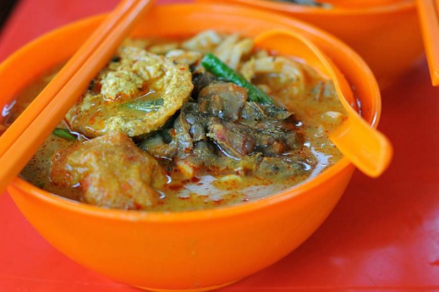 Malaysia came in second with its curry laksa.