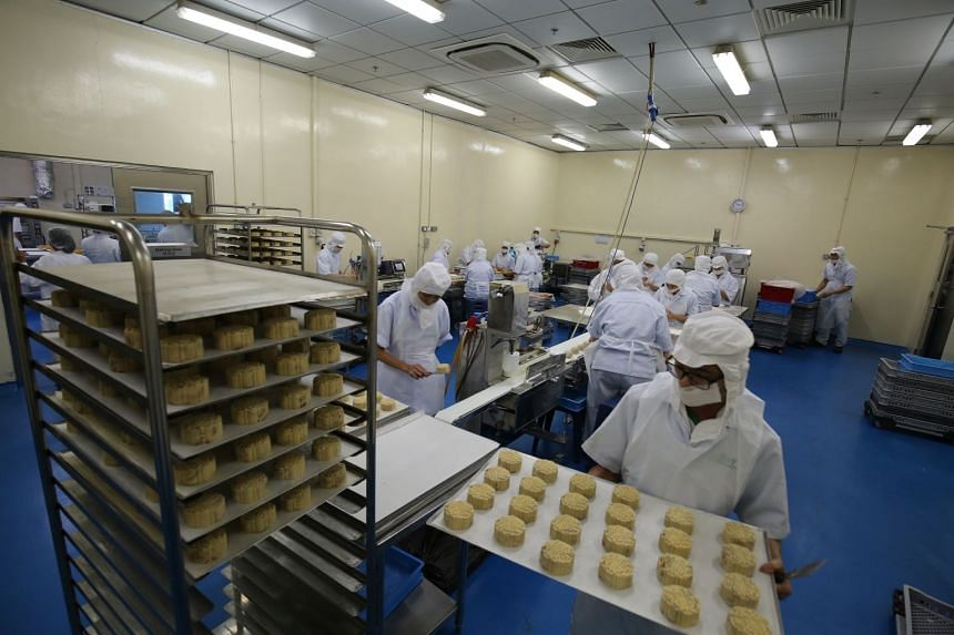 TungLok tapped the HPB's Healthier Ingredient Development Scheme to develop mooncakes that have about 30 per cent less sugar and calories, and 40 per cent less saturated fat.