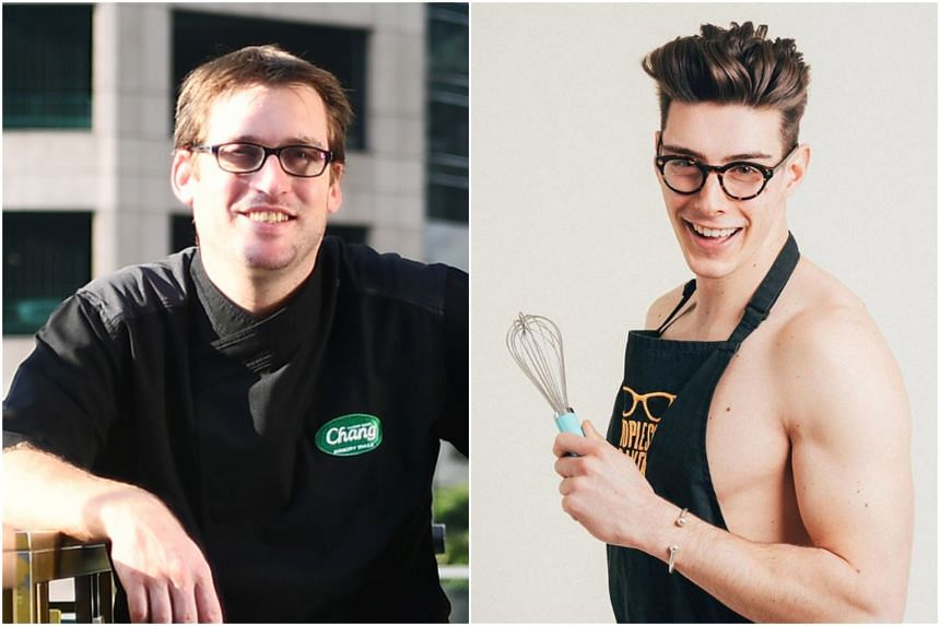 Australian chef Dylan Jones, of Thailand's one Michelin-starred Bo.lan (left) and Matt Adlard, aka the Topless Baker, will be at the four-day Great Food Festival.