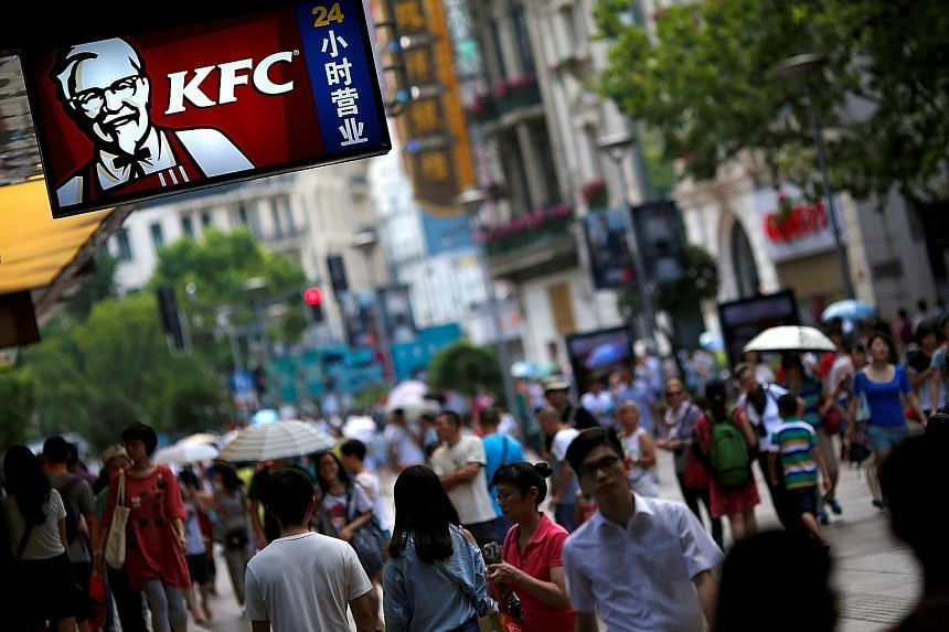 Beijing's sovereign wealth fund CIC is considering a joint buyout of US-listed Yum China, which operates KFC, Pizza Hut and Taco Bell outlets in China.