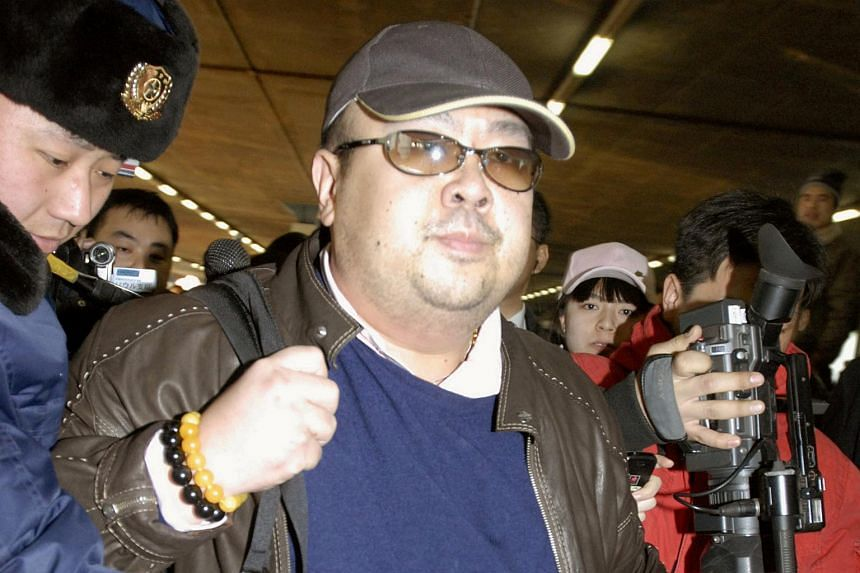 Mr Kim Jong Nam was allegedly killed with a toxic nerve agent at a Kuala Lumpur airport on Feb 13, 2017.