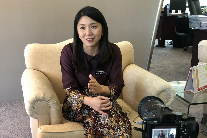 Ms Yeo Bee Yin, Malaysia's Energy, Technology, Science, Climate Change and Environment Minister, giving an interview to the media, on July 23, 2018.