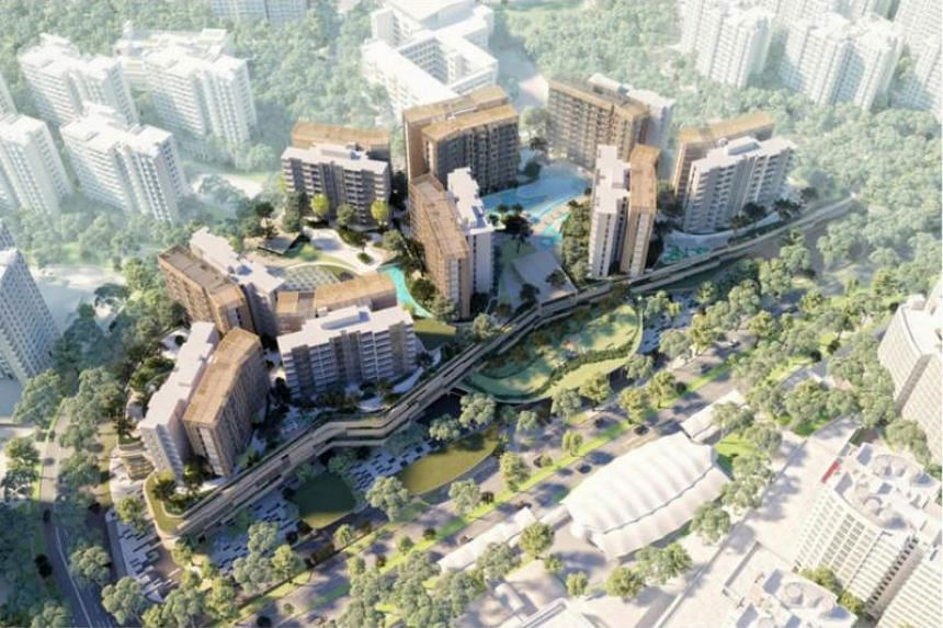 CapitaLand and CDL said their joint venture will transform the 3.7-hectare site into an integrated community hub with 700 residential apartments.