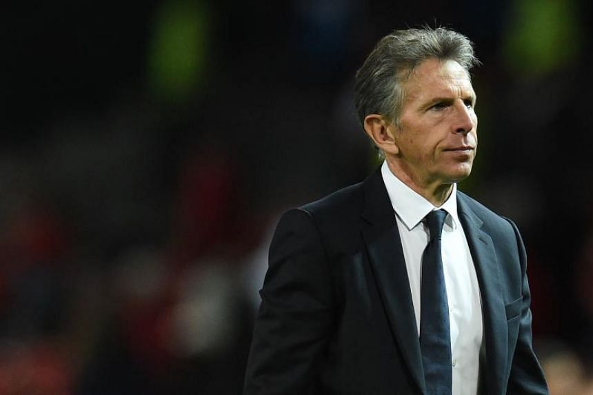 Leicester City manager Claude Puel is the bookmakers' favourite to be the first Premier League manager to be sacked this term.
