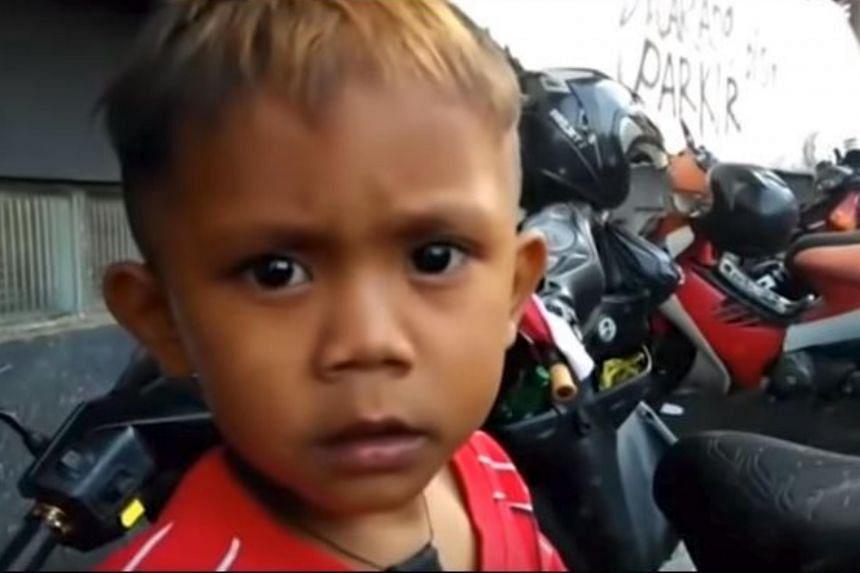 Two-year-old Rapi Ananda Pamungka has made international headlines for his chain-smoking habits.