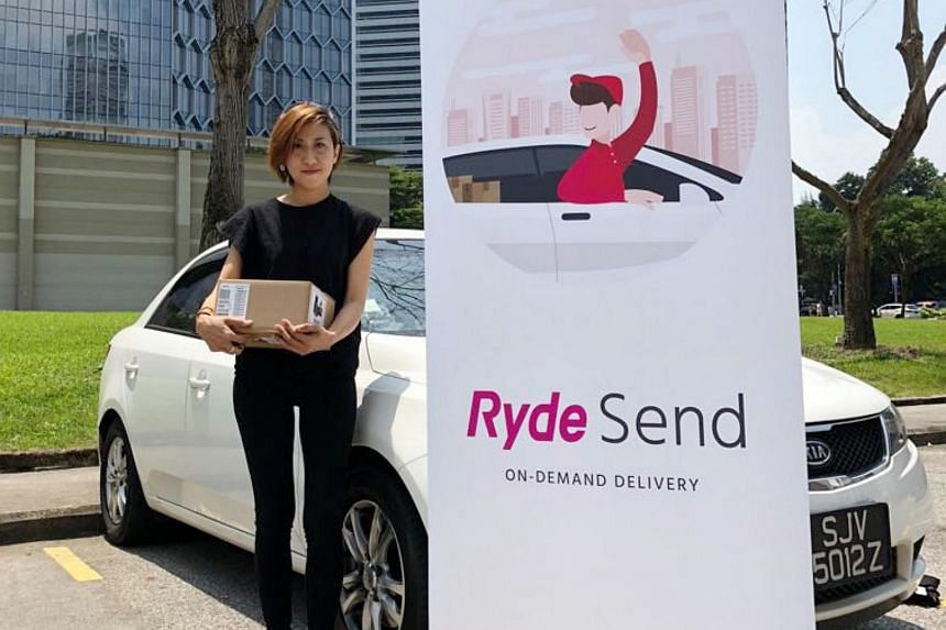 Ryde said it will not tap private-hire drivers or the 3,000 cabbies it had signed up for RydeSend. Instead, it will tap private drivers, who may be available in their spare time to deliver items for the app's users.