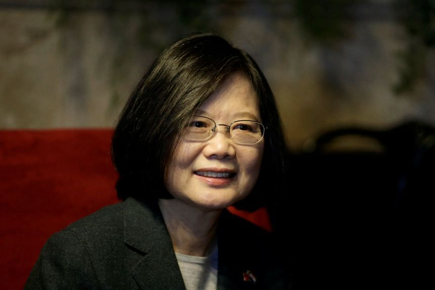 """Taiwan's President Tsai Ing-wen was expected to receive the """"Order of Belize,"""" an honour awarded to foreigners, before speaking on Friday to Belize's House of Representatives."""
