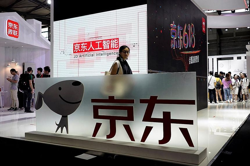 Beijing-based e-commerce firm JD.com's net loss in the quarter that ended in June was about eight times larger than what analysts expected. Its investments in logistics and technology could, amid rising competition, affect profit forecasts this year,