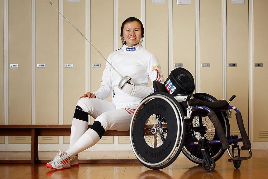 National fencer Rania Rahardja won an IOC grant to introduce wheelchair fencing here. Singapore has a well-established fencing team but none for persons with disabilities, she says.