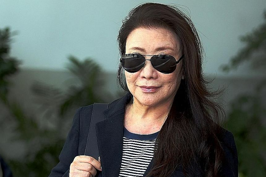 A private psychiatrist said that Shi Ka Yee became agitated whenever something reminded her of her former husband.
